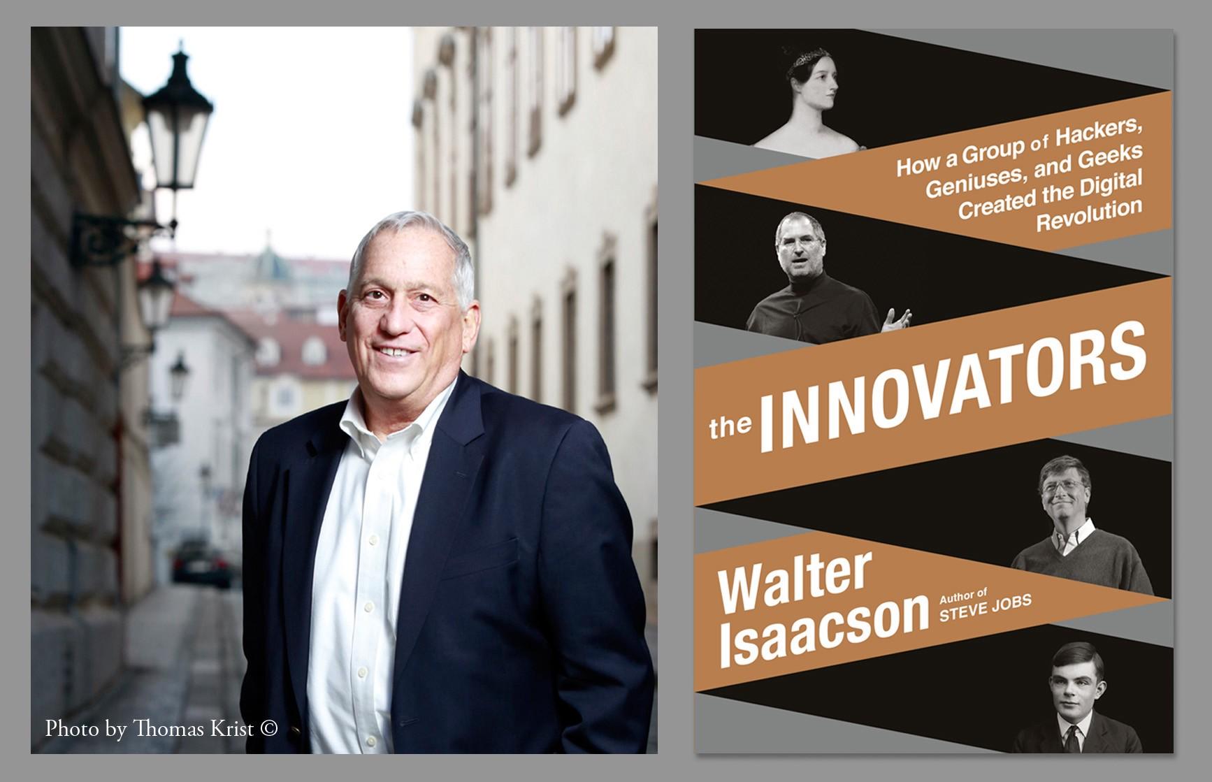 Walter Isaacson, auteur du livre Les Innovateurs - Photo par Thomas Krist