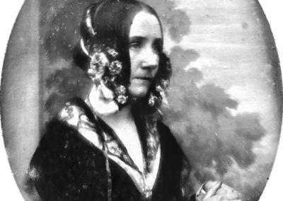 Ada Lovelace Byron daguerreotype par Antoine Claudet - 1843 ou 1850
